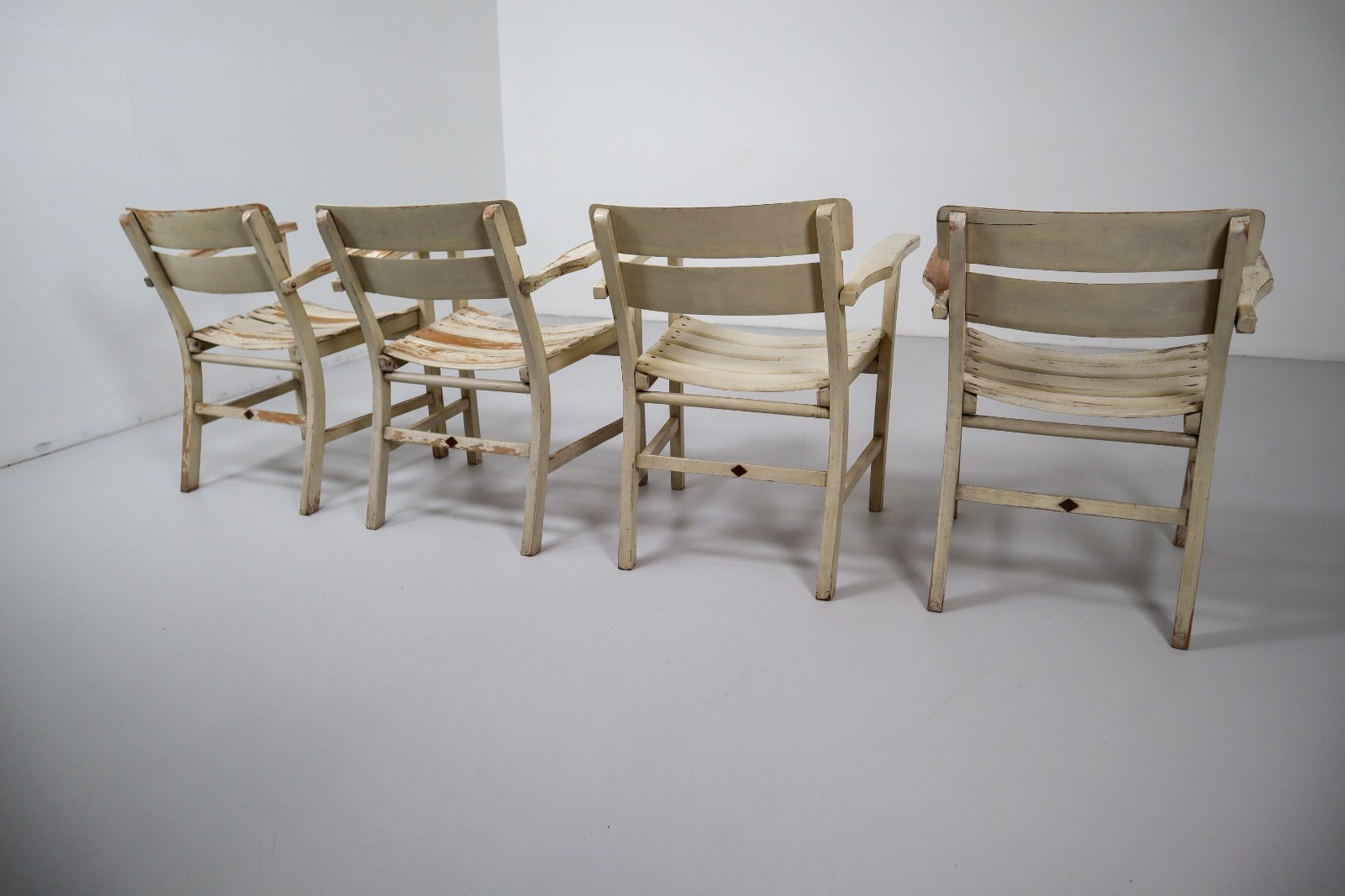 German Garden Patio Set 1930 Chairs