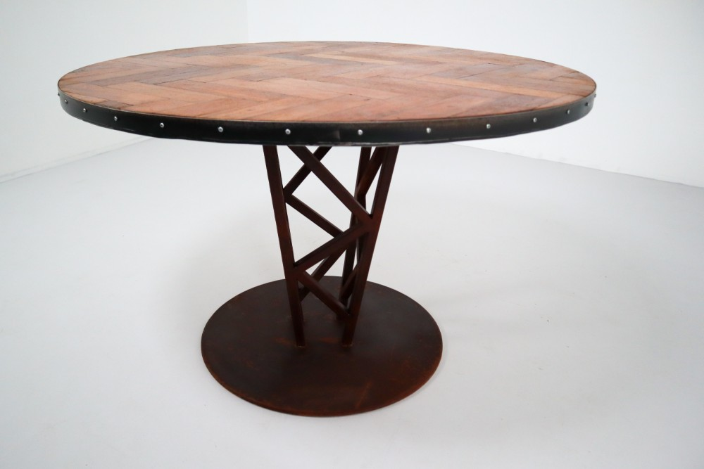 Super Industrial Reclaimed Table Dining Tables Tables Davidowski Ibusinesslaw Wood Chair Design Ideas Ibusinesslaworg