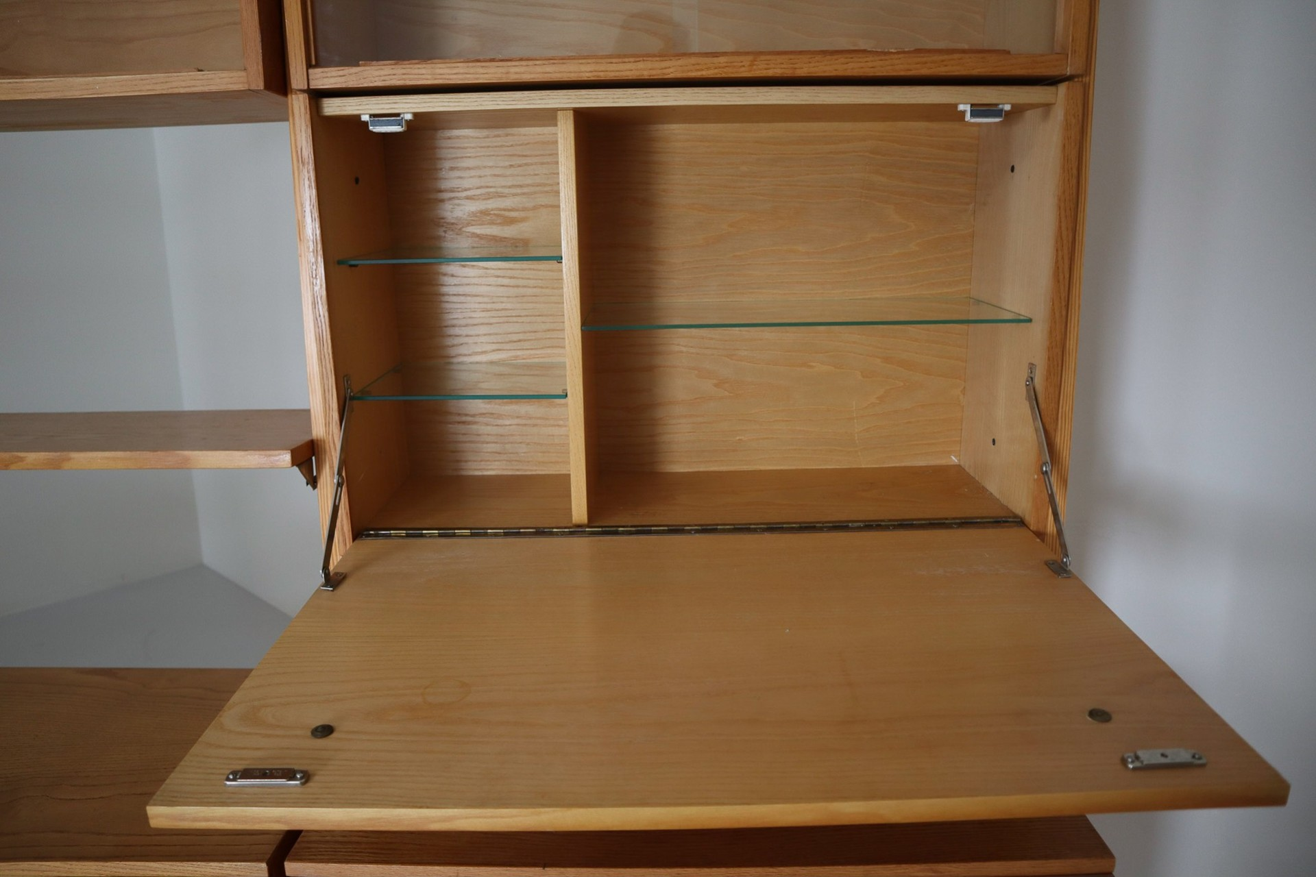 Image of: Large Mid Century Modern Wall Unit Or Bookshelf Praque 1960s Mid 20th Century Display Storage Davidowski