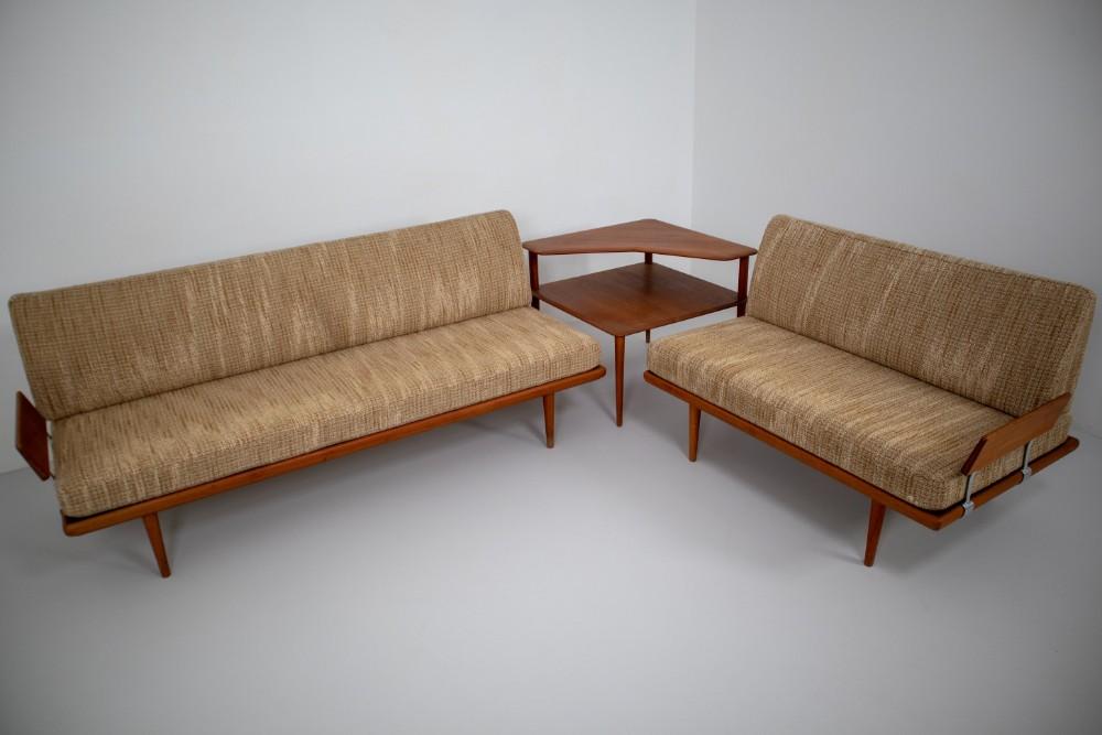 Prime Minerva Teak Sofa Set Peter Hvidt Orla Molgaard By Unemploymentrelief Wooden Chair Designs For Living Room Unemploymentrelieforg