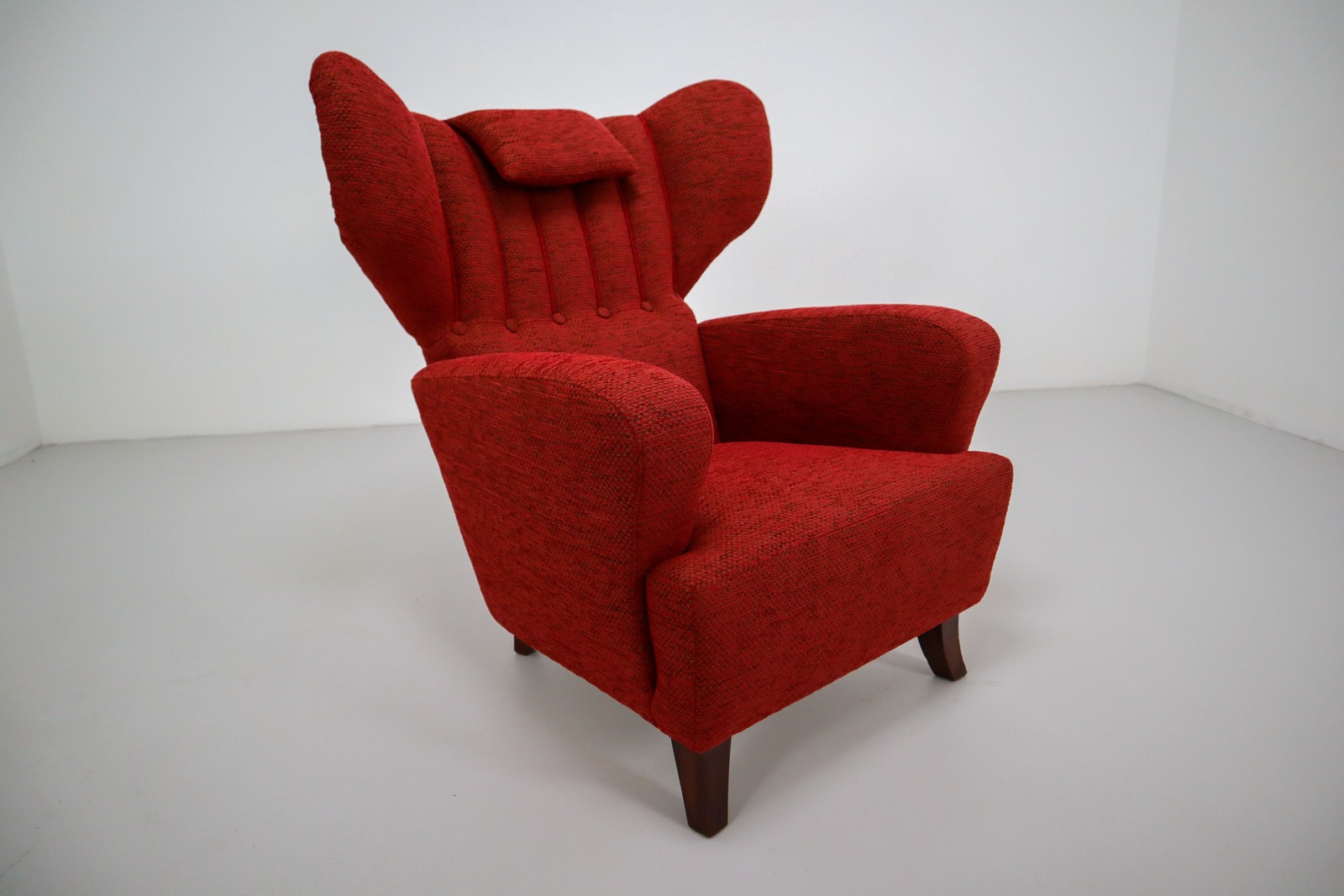 red armchair 1970